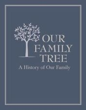 Our Family Tree: A History of Our Family - LEATHER BOUND HARDCOVER - BRAND NEW!