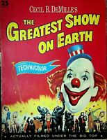 Cecil B Demille's The Greatest Show on Earth Program 1952 Charlton Heston