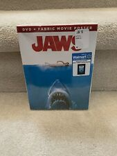New Jaws (Dvd) + Fabric Movie Poster Limited Edition