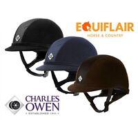 Charles Owen Ayr8 Plus Riding Hat Helmet PAS015 ASTM F1163:15