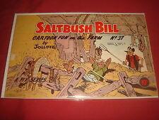 SALTBUSH BILL #37 Jolliffe Australian Cartoon Publication 1950's