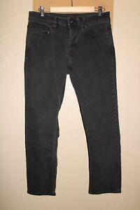 """VOLCOM Solver Mens 32""""W 29""""L black Jeans/Pants Combine ship Discount"""