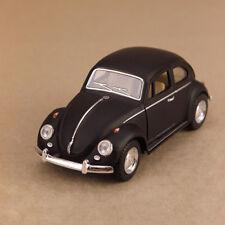 1967 Volkswagen Classic Beetle Matte Black Model 1:32 12cm DieCast PullBack OLP