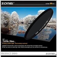 ZOMEi® 77mm IR INFRARED FILTER 850nm 85IR