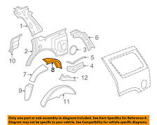GM OEM Inner-Quarter Panel-Outer Wheel well Left 15824937