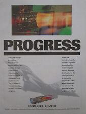 5/1991 PUB EUROJET EJ200 ENGINE FIAT AVIO MTU ROLLS-ROYCE ITP EUROFIGHTER AD