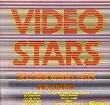 VIDEO STARS xtc/skids/cats uk/sparks/tourists/pretenders/etc NE 1066 LP PS VG/EX