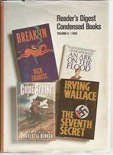 Reader's Digest Condensed Books Volume 2 1986 An Ark On The Flood/Break In