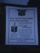 old Midland Jump Spark Cigar Lighter ad sheet W@W Free shipping
