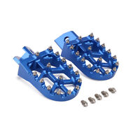 CNC Foot Pegs Rests Pedals Footrests for Yamaha YZ80 YZ125 YZ250 WR250 TTR250