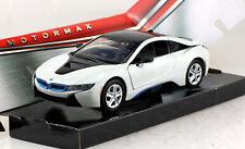 BMW I8 Coupe weiß 1:24 Motor Max Modellauto