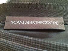 SCANLAN AND THEODORE Wool / Viscose / Mohair Grey Skirt - Size 6