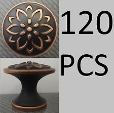 120 Threshold Round Knobs Flower Design Oil-Rubbed Bronze 00010401213 (No Box)