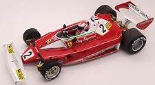 FIGURINE  VROOM  1/18  CLAY  REGAZZONI  FOR  FERRARI  312  HOT WHEELS  EXOTO