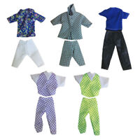 1 Set Doll Clothes Suit for Ken Dolls Fashion Handmade Coat Pants Random Sent