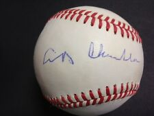 "A.B. ""HAPPY"" CHANDLER d.1985 SIGNED OFFICIAL RAWLINGS N.L. BASEBALL w/COA"