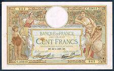 FRANCE - 100 FRANCS L.O MERSON Fay n° 24.16 du 30=9=1937.BT en TTB C.55615 943