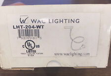 Wac Lighting Lht-204-Wt White Track Lighting Accent Contemporary Display Light