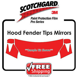 Kits for Ford - 3M 948 SGH6 PRO SERIES Scotchgard Paint Protection Film Hood Fen