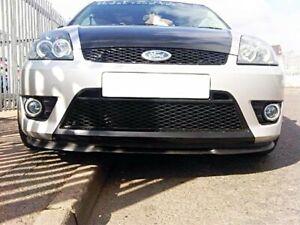 Pour Ford Fiesta MK5 MK6 Lèvre Lame Inférieure Spoiler Pare-Choc Avant 2001-2008