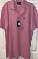 PSYCHO BUNNY Mens Pink Polo Shirt Sz  7XL NEW Small Flaw Tag Hole On Shoulder