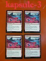 4x Footfall Crater | Ikoria Lair of Behemoths | MTG Magic Cards