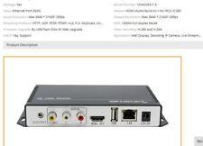 H.265 H.264 Ultra HD 4K video streaming audio Decodificatore IP IP Decoder HDMI + riconoscimento
