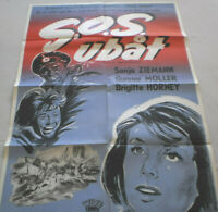 Filmplakat,SOS UBÄT,SOS U BOOT ,SONJA ZIEMANN,BRIGITTE HORNEY #23