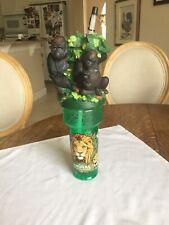 Disneyworld Disney World Souvenir Cup Water Bottle Animal Kingdom Gorilla Coke