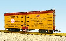 USA Trains G Scale R16378 J. LYNARD POULTRY-YELLOW/REDOX Reefer