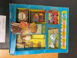 Vintage 1959 My Merry Play Set Stationary Store Hallmark Gifts toy NiB Miniature
