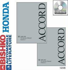 2008 2009 2010 2011 Honda Accord V6 Shop Service Repair Manual CD Engine OEM