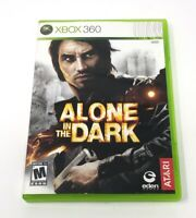 Alone in the Dark (Microsoft Xbox 360, 2008) Complete Tested Working