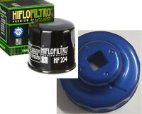 HiFlo HF204 Oil Filter AND Oil Filter Wrench/Tool for 65mm cartridge service set