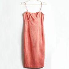 NEW The Jetset Diaries TJD Soho Midi Sheath Dress in Peach Size 8 Retail $130