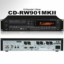 TASCAM CD-RW901MKII Pro Industrial Design Rackmount Recorder / Player / Remote