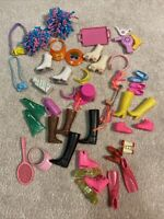Lot Of Vtg 80's 90's Barbie Doll accessories Roller Blades. California. Flippers