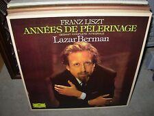 BERMAN / LISZT annees de pelerinage ( classical ) 2x3 lp box dgg