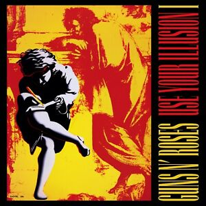 GUNS N ROSES Use Your Illusion 1 BANNER HUGE 4X4 Ft Fabric Poster Tapestry Flag