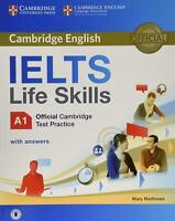 IELTS Life Skills Official Cambridge Test Practice A1 Student's Book with Answer