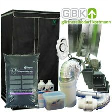 Grow-Set Growbox L + 400-W 400-Watt Natrium-dampf-lampe NDL + Klima Grow Dünger