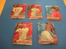 1994 Bowman's Best Texas Rangers Team Set 5 Cards
