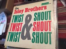 ISLEY BROTHERS~TWIST+SHOUTING RARE ORIG '63 Wand MONO LP
