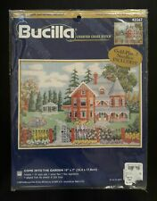 Bucilla # 42567 Come Into The Garden Counted Cross Stitch Kit  Unopened