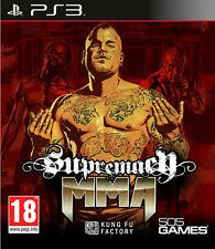 MMA Supremacy PS3 Playstation 3 IT IMPORT 505 GAMES