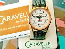 FAB BULOVA CARAVELLE 299 GAME ABC BOWLING GENTS WATCH.NEW OLD STK.BOX/PAPERS.'01