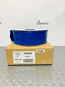 "B&K 748284 PVC Flat Lay Discharge Hose 2"" OD X 100 Ft   S-13"
