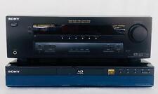 Lot Sony BDP-S300 Blu Ray CD/DVD Player & STR-K750P Receiver 5.1 Channel 100 W
