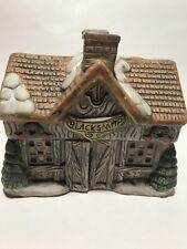 Share The Joy Porcelain House Candle Holder Tealight Holiday Village Blacksmith