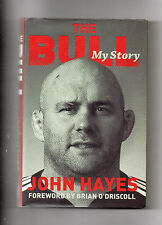 MUNSTER RUGBY - JOHN HAYES AUTOBIOGRAPHY - THE BULL - IRELAND